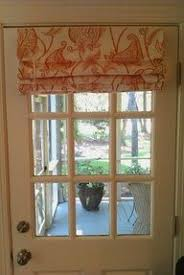 Kitchen Door Curtain Ideas A Sparkle My 4 Window Covering Crafty Pinterest