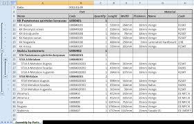 Bom Template Excel Woodwork4inventor Help