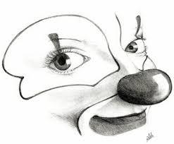 clown smile sketch by wildss on deviantart