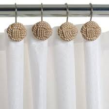Cute Shower Curtain Hooks Cute Shower Curtain Hooks For That Coastal Look From Target