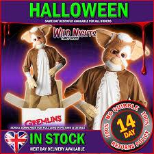 Gremlins Costume Halloween Halloween Fancy Dress Gremlins Mogwai Gizmo Costume Xl