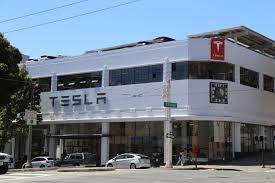 check out tesla u0027s new san francisco store