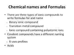chapter 9 chemical names and formulas 9 1 naming ions ppt video