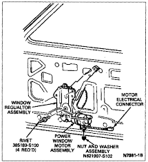 ford power window motor wiring wiring diagrams