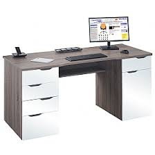 Computer Desks Calgary Calgary Computer Desk Truffle Oak White Gloss Cheap Calgary