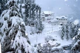 beautiful chamba snow fall indian hill stations