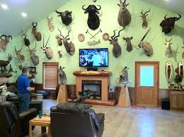 trophy rooms alaska hunting man cave hunt alaska magazine