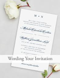 wording for wedding invitations wedding invitation wording magnetstreet weddings