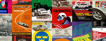 porsche racing poster the art of racing pixel farm the art of racing