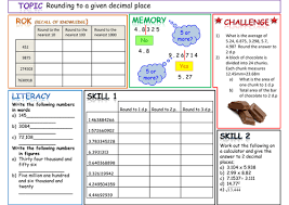 rounding to a given decimal place by fantus teaching resources tes