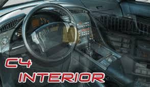1992 corvette interior c4 interior corvette recycling