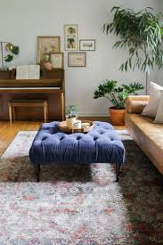 coffee table marvelous tufted storage ottoman blue tufted