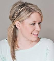Frisuren Mittellange Haare Zopf by Mittellange Haare Französischer Zopf Frisuren Seitlicher