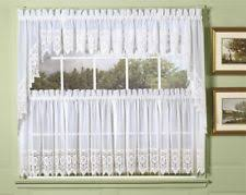 Cafe Tier Curtains Lace Cafe Tier Curtains Ebay