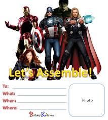 avengers photo birthday invitations the avengers birthday party