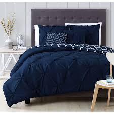 Machine Washable Comforters A Beautiful Pintuck Design Adorns A Charcoal White Blue Taupe