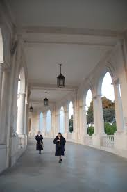 catholic pilgrimage tours architecture archways our of fatima basilica europe european
