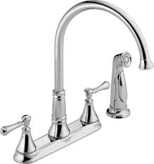 Kitchen Pull Down Faucets by Brushed Nickel Delta Savile Stainless 1 Handle Pull Down Kitchen