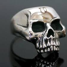 classic skeleton ring holder images Buy a custom sterling silver skull statement ring biker ring jpg