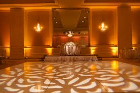 wedding event backdrop gobo pattern wash las vegas los angeles san diego wedding lighting