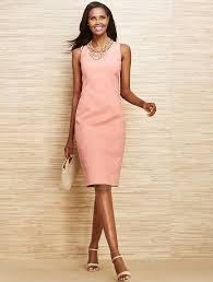 what to wear with a light pink dress professional smart chic talbots wave matelasse jacket sheath