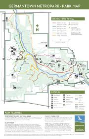 Ohio Campgrounds Map Germantown Five Rivers Metroparks