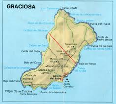 Map Of Punta Cana La Graciosa Map Canary Islands Islands Miles Of Isles Pinterest