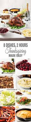 easy thanksgiving menu 8 dishes recipetin eats