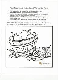 thanksgiving poem free handout 4 the emporium lesson plans