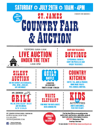 st james country fair and auction july 29th