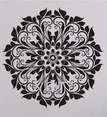 Wall Decals Mandala Ornament Indian by Aliexpress Com Buy Indian Mandala Round Pattern Wall Decals For