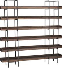 leaning shelves from crate and barrel home decor shelves crate