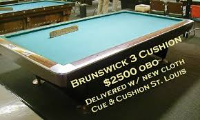 carom table for sale used 10 ft brunswick 3 cushion table azbilliards com
