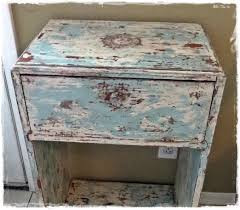 Wooden Furniture Paint How To Get A Shabby Distressed Paint Finish Youtube