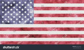 How To Paint American Flag American Flag Painted Watercolor Usa Flag Stock Illustration