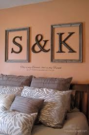 best 25 monogram above bed ideas on wood monogram