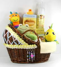 new care package new baby neutral care package with decorated bassinet basket