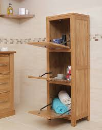 Oak Storage Cabinet Oak Bathroom Storage Cabinets Bathroom Cabinets