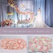 Wedding Flowers Background Aliexpress Com Buy 10pcs Original Design Wedding Flower Wall And