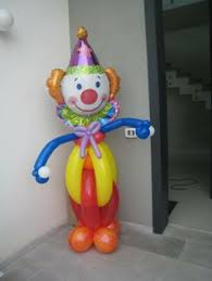clowns balloons clown balloon table centerpiece party decor by j j balloon