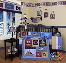 Boutique Crib Bedding Geenny Boutique 13 Crib Bedding Set Boy Sailor