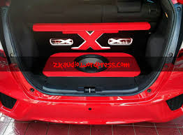 zx audio car audio dan peredam mobil