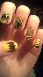 Halloween Nail Art Bats by 32 Best Batman Nail Art Images On Pinterest Batman Nail Art
