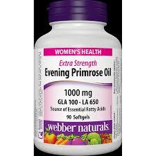 Evening Primrose Oil For Hair Loss Webber Naturals Evening Primrose 1000mg