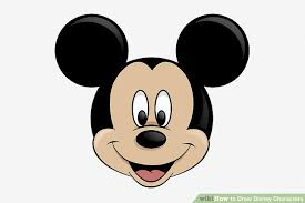 draw disney characters pictures wikihow