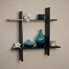 Wall Shelves by Amazon Com Danya B Ff6014w Laminate Square Floating Wall Shelf