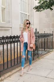 Blush Pink Cardigan Blush Oversized Cardigan Blonde Expeditions