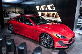 red maserati 2015 maserati granturismo mc centennial editon front photo