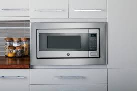 Profile Cabinets Kansas City by Ge Profile Pem31sfss 24 Inch Countertop Microwave In Stainless