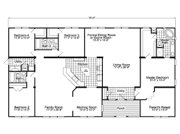 House Plan Layout The Gotham Vr41764b Manufactured Home Floor Plan Or Modular Floor